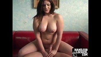 Big tit chick gets naugty with cock