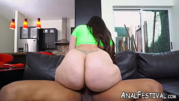 Voluptuous Alycia Starr has booty dicked by black man
