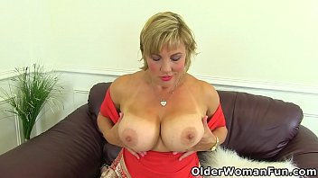 Busty milf Danielle will make you drool over her tasty body