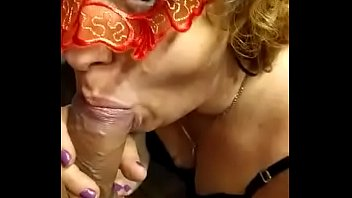 my mother in law sucking me