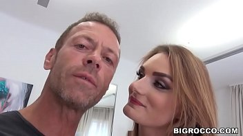 Curvy french babe got assfucked at Rocco's apartment - Marie Clarence