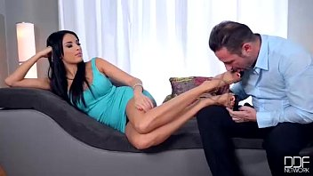 Office Adventures - French Luxury Foot Fetish and Fuck