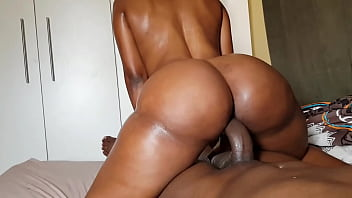 This young black girl has a wonderful bubble ass
