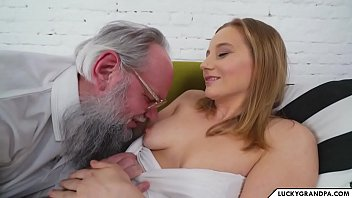 Horny Old Man loves young meat