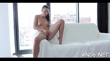 Sexy brunette young Lolly C enjoys fast fucking