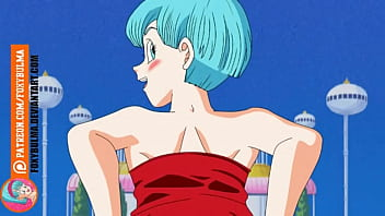 Dragon ball bulma showing pussy and tits video