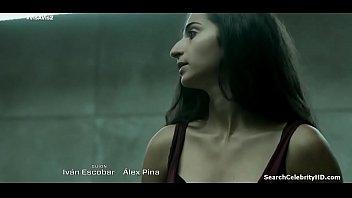 Celebrity sex scenes Maggie civantos olivia delcan alba flores vis a vis s02e02 2016