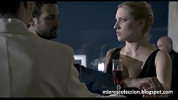 Anna Jimskaia chupando verga en escena de Monamour (Tinto Brass - 2005 - Español 2 min