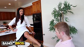 BANGBROS - Phone Sex With Kacy Lane's Stepmom India Summer Leads to 3some Image
