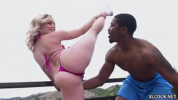 Cock hungry Katie Kush rides a BBC