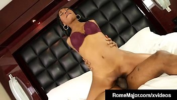 BBC Rome Major Fucks Chocolate Chick Mocha Menage! pornhub video