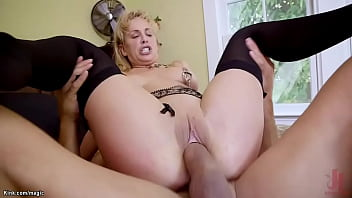 Stepmom and daughter anal fist and fuck