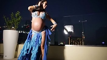 Pregnant Belly Dancer