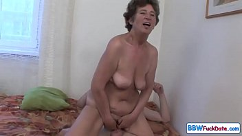 Old Fat Granny Screaming From Anal 23 min
