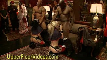 The upper floor orgy bdsm party 5分钟