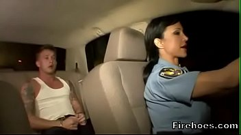 Free porno police - Female police officer fucks suspect in car