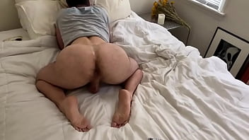 FUCKING A BIG BUTT DL Celebs Bubble Butt Muscle White ASS IN LA AND AUSTIN AVERY Takes my BBC