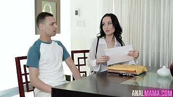 Crystal Rush Did Anal With Her Boss Son