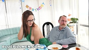 BLUE PILL MEN - Old men party with a young hottie named Akira Shell pornhub video