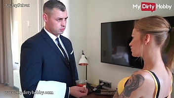 MyDirtyHobby - Beautiful babe gets fucked by the room service