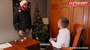 Letsdoeit - #christina Shine #rick Angel - Christmas Anal Sex At School With A Horny Big Ass Hungarian Babe