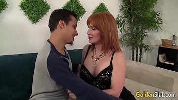 Mature women seduces young woman - Older woman freya fantasia seduces boy