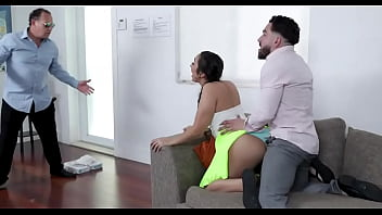 Lilly Hall big ass sister helps step brother