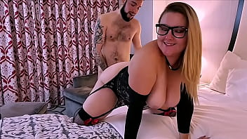 Thick white girl Ashley Ace hotel sex