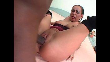 Clip sex Eliza destroyed with a huge black cock