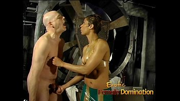 Gorgeous Babe Enjoys Pleasuring This Horny Stud's Stiff Meat Pole