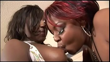 Back water sex - The best friend of two black lesbians is a crystal dildo