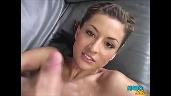 Lexi Diamond Ha ndjob Teen Makes A Cock Cum Tw s A Cock Cum Twice