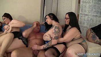 Jessica drew chubby - 8 horny plumpers sharing 2 fat cocks