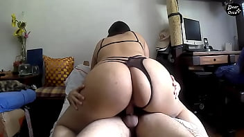 THE BIG ASS of MY STEPSISTER RIDING MY DICK