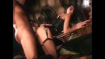 Black girl fucked leather boots video Pretty babe in boots and fishnet stockings fucking