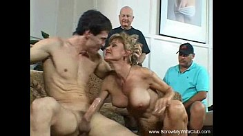 Short blonde haired porn pics - Short haired blonde milf turns swinger