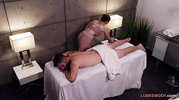 Double massage secret! - Valentina Nappi, Lauren Phillips