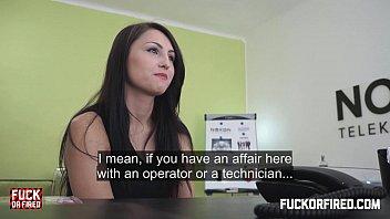 Barbora Fucks Me Hard To Prove She's Worth Hiring