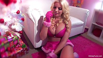Vintage christmas tree - Britney amber anal solo