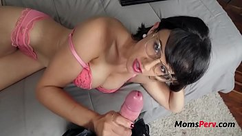 Hot Mother Makes Son Watch Porn With Her & Fuck...