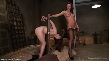 Lesbian Gaping Ass Whipped And Toyed