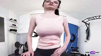 TmwVRnet.com - Denisa - Explicit Revelation from a Busty Gymnast
