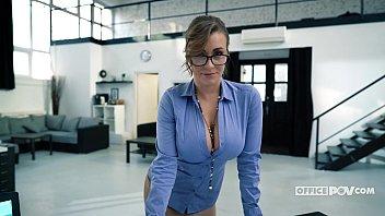 Busty Secretary Josephine Jackson Always Satisfies Her Boss - itsPOV 5 min