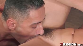 Mature cutie Sissy hammered by young dude before big facial