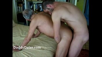 Younger guy fucks older guy