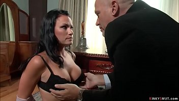 Elder boss fucks sexy busty employee