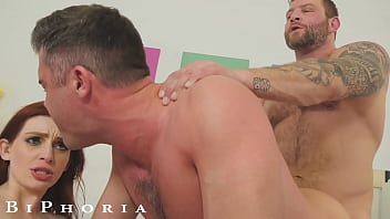 Horny Wife Convinces Husband To Have 3some With His Stepbrother - BiPhoria