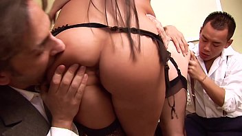 Anal Big Tits Orgy! Busty Babes Ass Fucking, Deepthroating, Pussy Licking & Two Cumshots. High Society Foursome