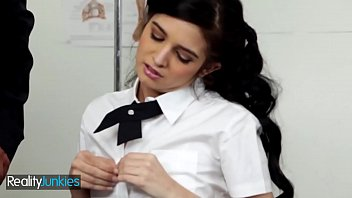 Skinny Schoolgirl Zoey Kush Gets Dominated By Teacher - Reality Junkies