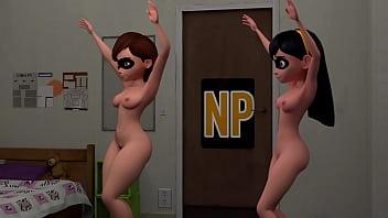 Parr nackt violet Disney Nude